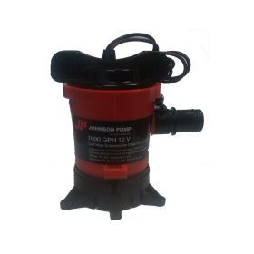 "Bilge Pump - Johnson L650, 1,000 GPH, 3/4"" Qwik-Lok Discharge"